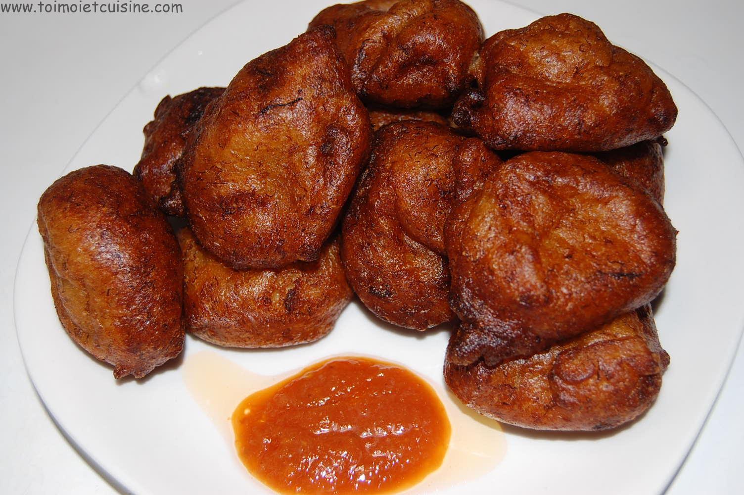 Beignet de banane toi moi cuisine - Cuisine africaine camerounaise ...
