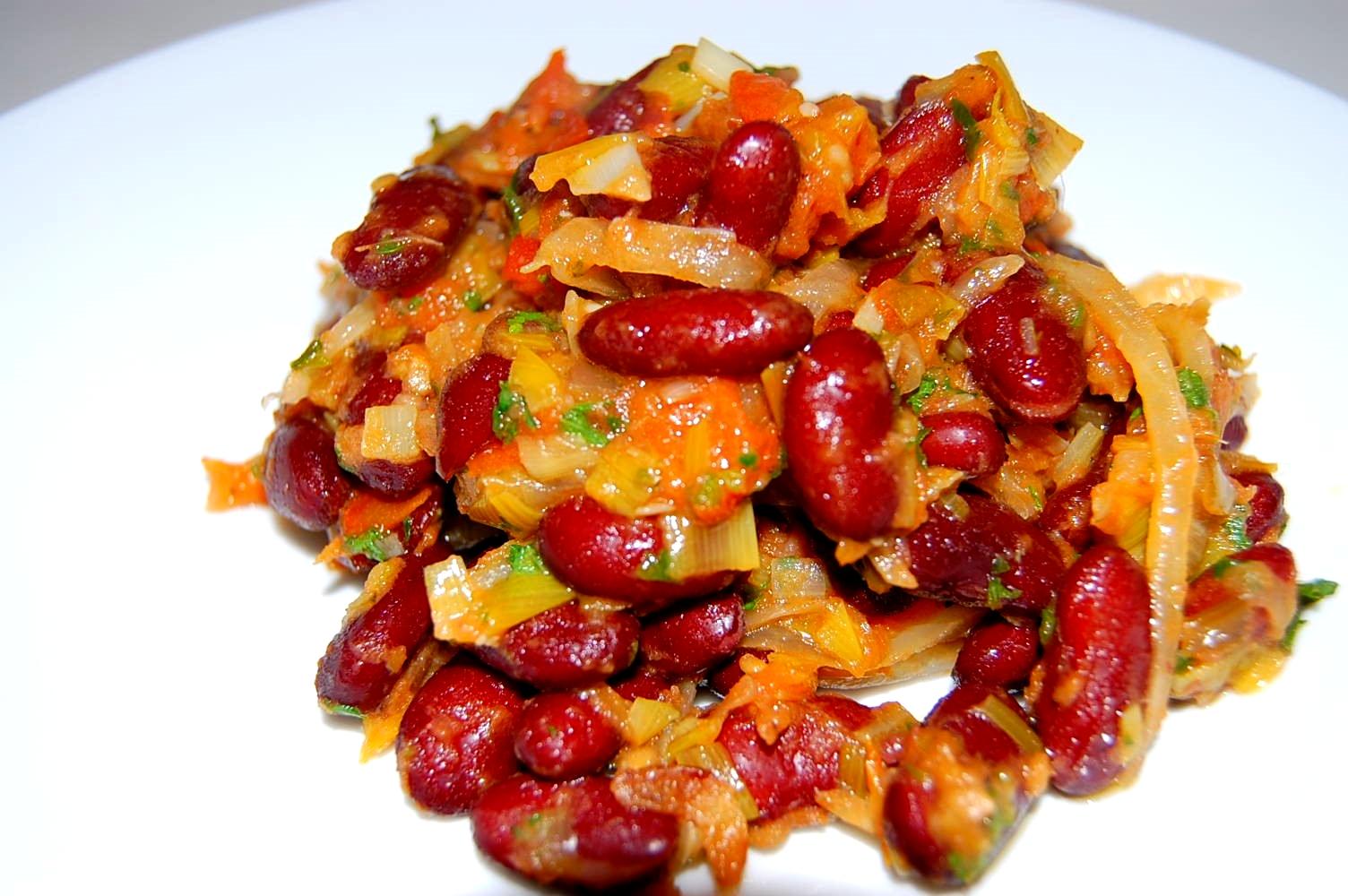 Recette De Haricots Sautes Tchop Afrik A Cuisine