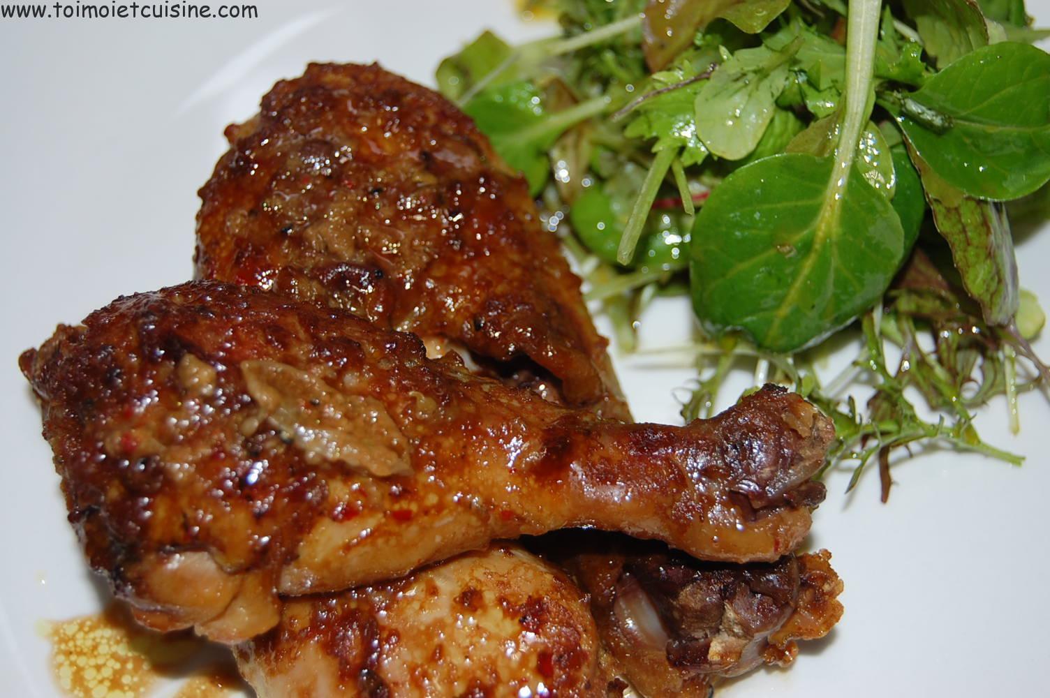 Pilon De Poulet Au Four Tchop Afrik A Cuisine