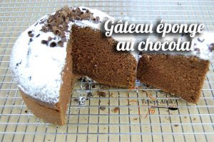 Gâteau au chocolat éponge inratable