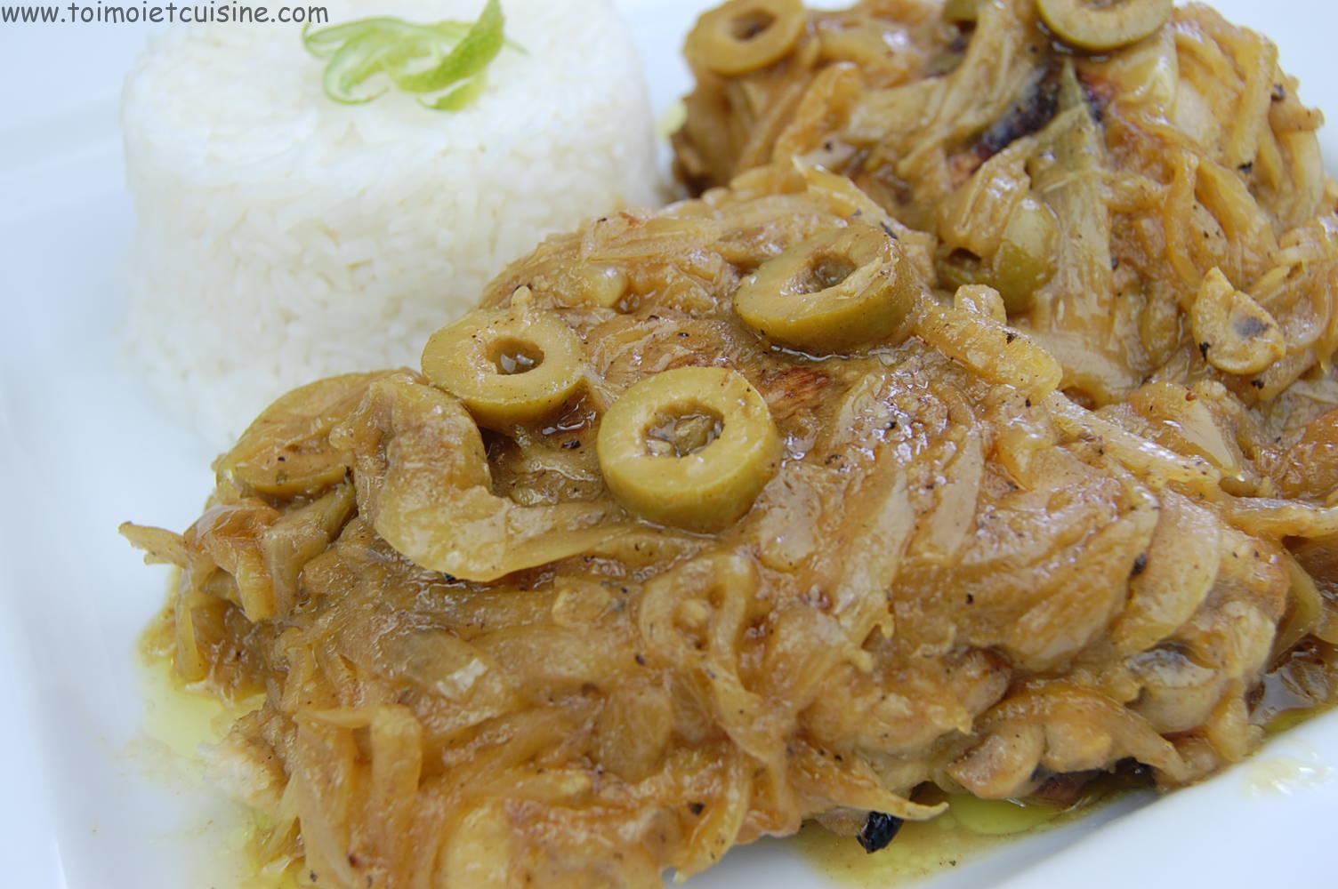 Poulet yassa tchop afrik 39 a cuisine - Recette de cuisine senegalaise ...