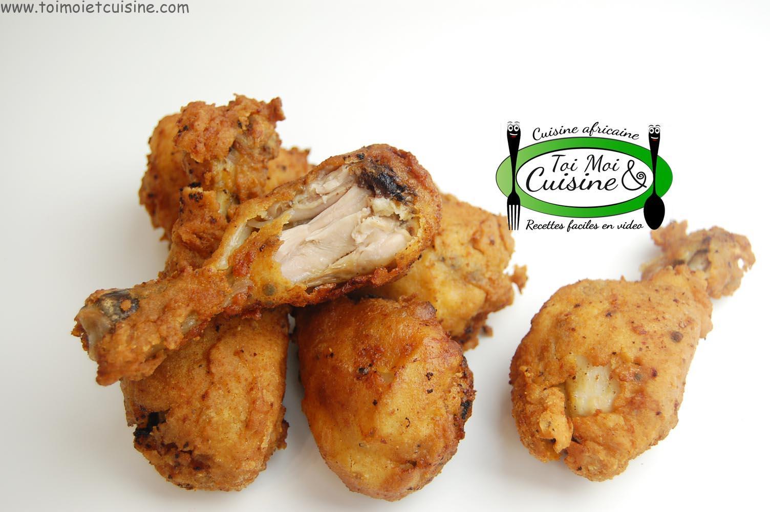 Poulet Frit Kfc Maison Tchop Afrik A Cuisine