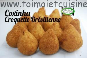 Recette de coxinha au thon(croquette brésilenne)