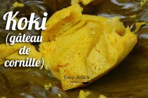 koki (gâteau de cornille)