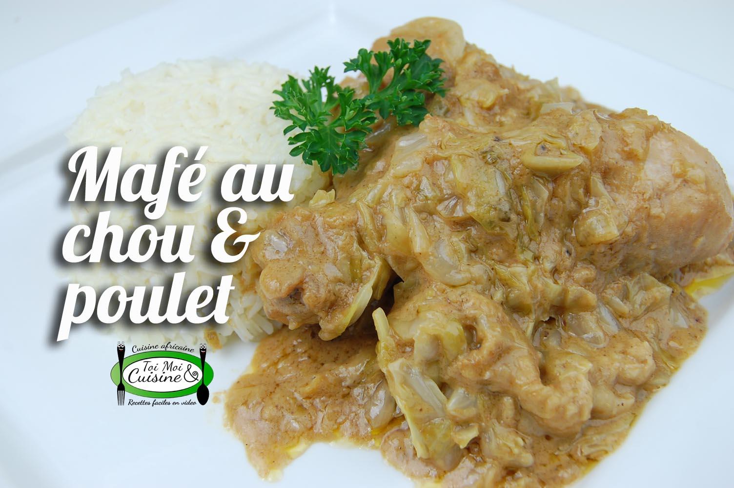 Maf arachide au chou et poulet tchop afrik 39 a cuisine - Cuisine africaine facile ...
