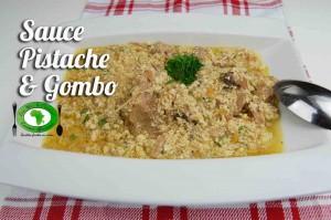 Sauce pistache et gombo