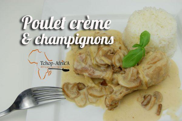 poulet creme champignon